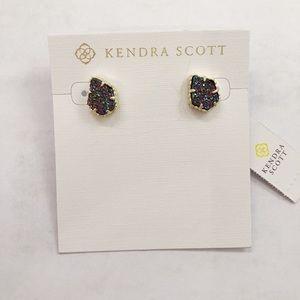 Kendra Scott Tessa Studs in Gold and Multicolor